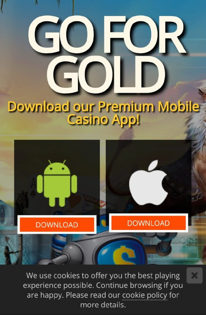 Lucky Nugget Casino Mobile for Android & iOS